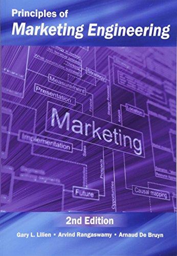 9780985764807: Principles of Marketing Engineering