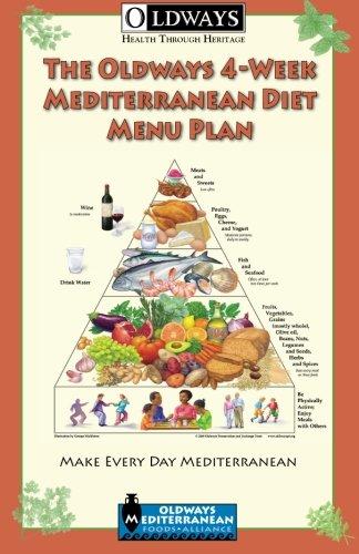 9780985893903: The Oldways 4-Week Mediterranean Diet Menu