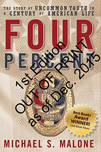 Four Percent: The Story of Uncommon Youth in a Century of American Life (1st Edition): Michael S. ...