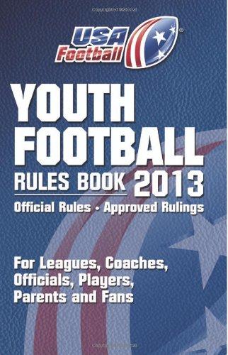 9780985971922: 2013 USA Football Youth Football Rules Book
