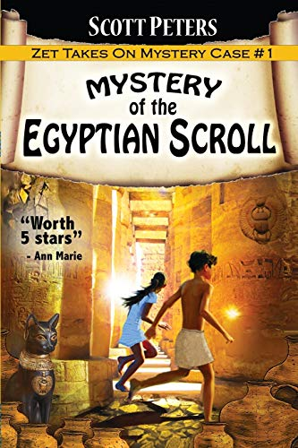 9780985985288: Mystery of the Egyptian Scroll: A Children's Adventure (Kid Detective Zet)