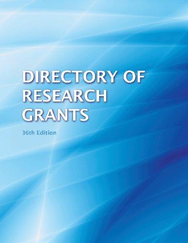 Directory of Research Grants 2013: Schafer, Anita B.