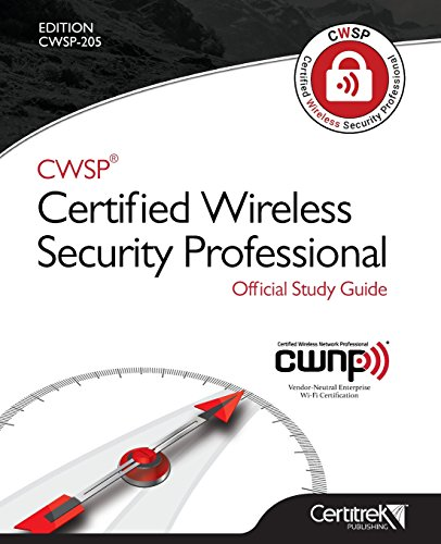 9780986126796: CWSP ®Certified Wireless Security Professional Official Study Guide