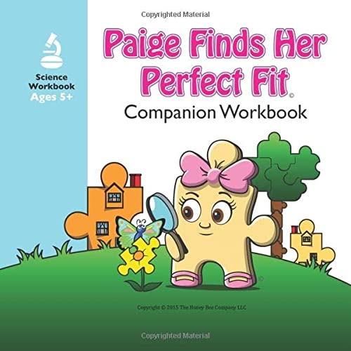 """9780986161810: """"Paige Finds Her Perfect Fit"""" Workbook Companion (The Adventures of Paige & Paxton)"""