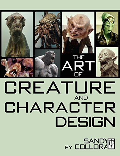 9780986186202: The Art of Creature and Character Design
