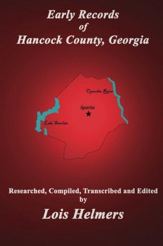 9780986226830: Early Records of Hancock County, Georgia