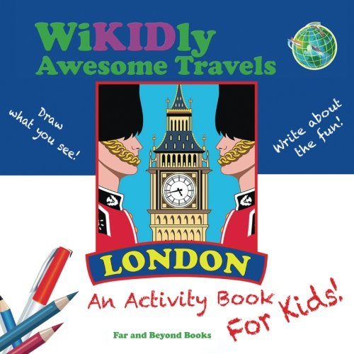 9780986237515: WiKIDly Awesome Travels - London: An Activity Book for Kids