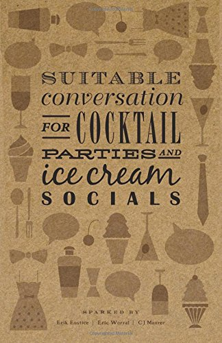 9780986246302: Suitable Conversation for Cocktail Parties and Ice Cream Socials