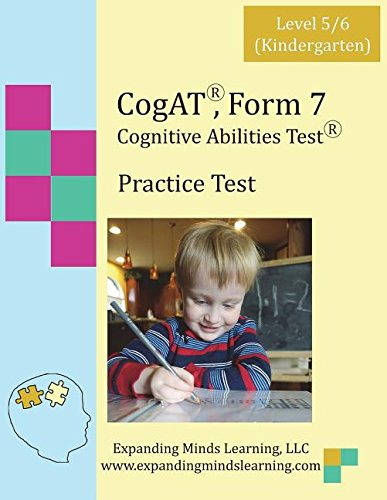 CoGAT Form 7 Practice Test: Level 5/6 (Kindergarten)