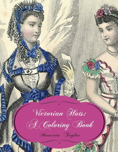 9780986353024: Victorian Hats: A Coloring Book