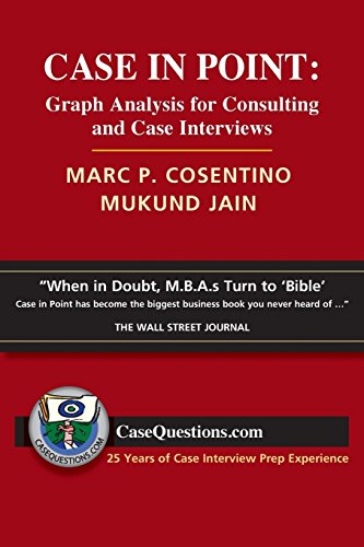 9780986370700: Case in Point: Graph Analysis for Consulting and Case Interviews