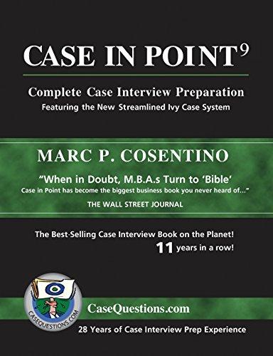 9780986370717: Case in Point 9: Complete Case Interview Preparation