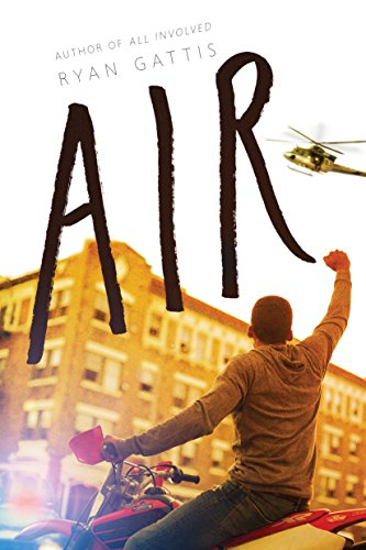 Air 9780986448423 After 17-year-old Grey witnesses the tragic death of his mother in Colorado, he is shipped off to live with his aunt in inner-city Baltimore, where he struggles to fit in to a new school and community. His new friend Akil introduces him to the enigmatic Kurtis, the leader of a group that uses high-octane sports as a form of social activism. By challenging the police with death-defying stunts and posting videos of them online, Kurtis, Grey, and their group become unlikely heroes in the fight against the prejudice that surrounds them. As Kurtis takes Grey under his wing, they create a group name, an insignia, and a cause attracting more and more followers as they post videos of their extreme acts. The lines between social activism and criminal behavior blur and their escalating stunts become a rallying point for the underprivileged and disenfranchised around the country, spreading like wildfire across the Internet. How far will Grey and Kurtis go to push their message, and can their friendship withstand their growing notoriety?