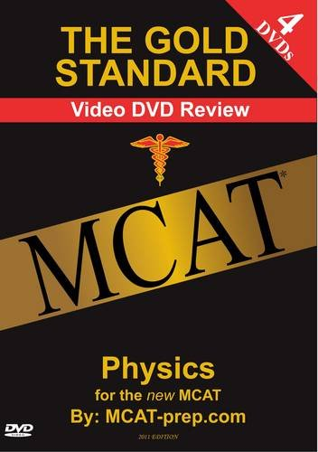 9780986591884: The Gold Standard Video MCAT & GAMSAT Science Review on 4 DVDs: Physics