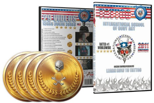 9780986630101: Learn how to Tattoo multi-disc set - 2011 edition 13.5hrs