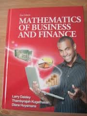 Mathematics of Business and Finance: Larry Daisley