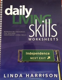 9780986912900: Daily Living Skills Worksheets by Linda Harrison