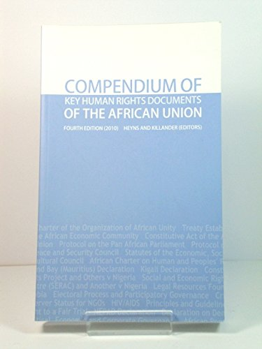 9780986985713: Compendium of Key Human Rights Documents of the African Union