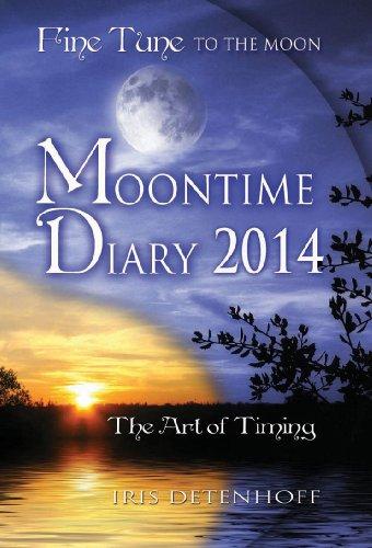 Moontime Diary 2014 (Fine Tune To The Moon): Iris Detenhoff
