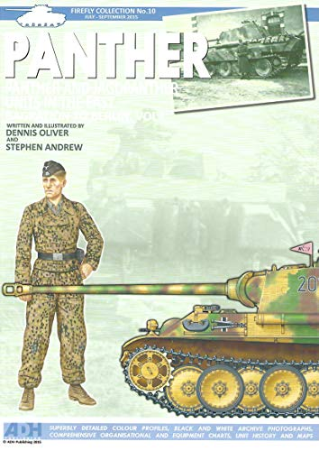 9780987601377: Panther: Panther and Jagdpanther Units in the East Bagration to Berlin. Vol 1
