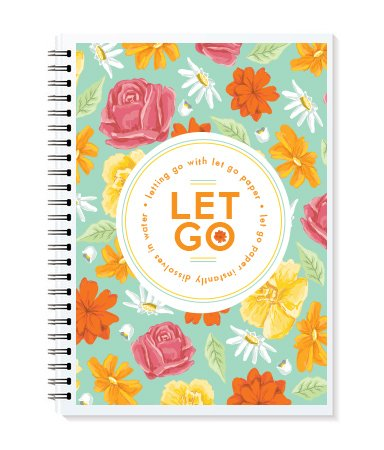 9780987825933: Letting Go with Let Go Paper Floral Edition Journal