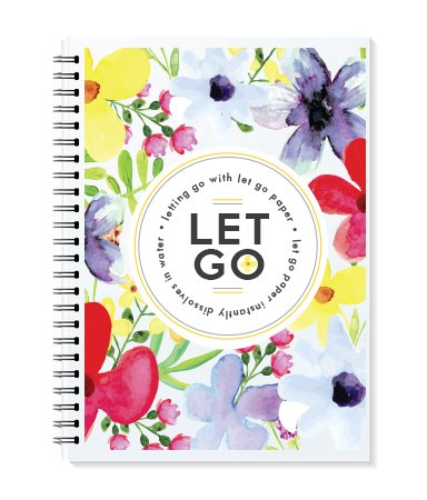 9780987825940: Letting Go with Let Go Paper Water Colors Edition Journal