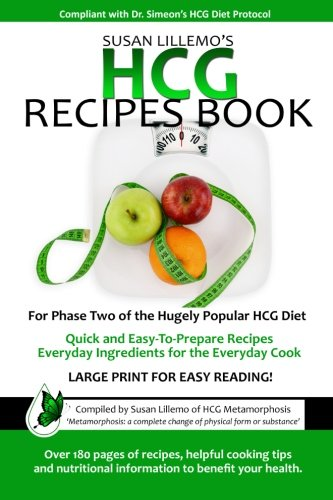 9780988010000: HCG Recipes Book: For Phase Two of the Hugely Popular HCG Diet (Volume 1)