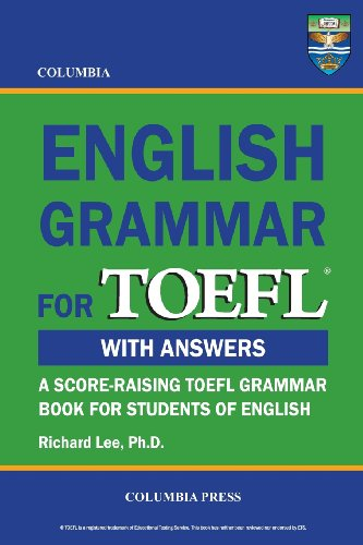 9780988019195: Columbia English Grammar for TOEFL