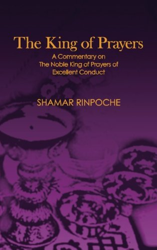 9780988176249: The King of Prayers: A Commentary on The Noble King of Prayers of Excellent Conduct