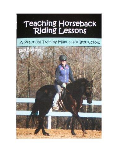 Teaching Horseback Riding Lessons: Cochran, Sally
