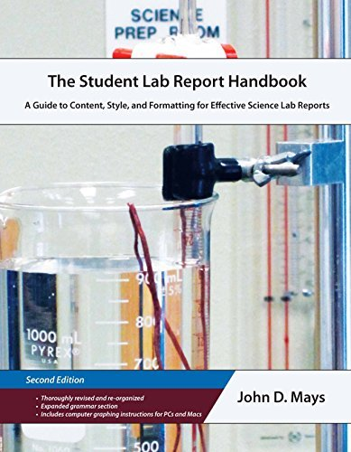 9780988322875: Student Lab Report Handbook A Guide to Content, Style, and Formatting for Effective Science Lab Reports