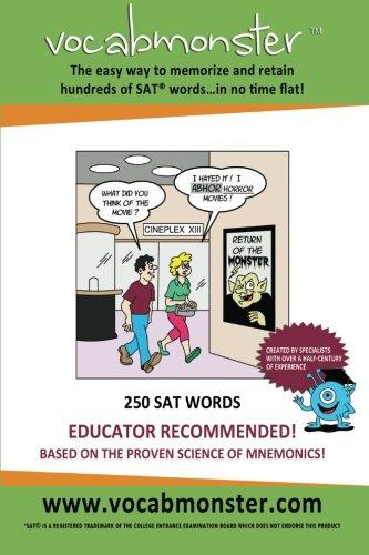 9780988342101: Vocabmonster - 250 SAT Words (Color)