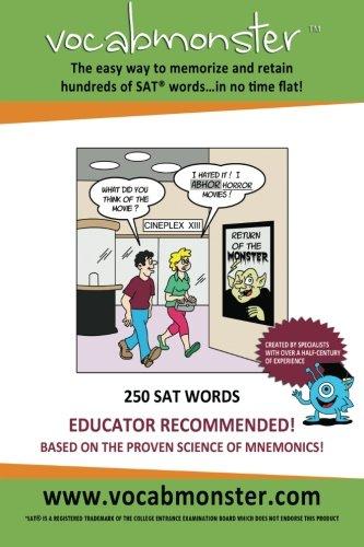 9780988342149: Vocabmonster - 250 SAT Words