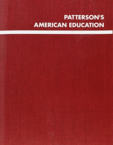 Patterson s Elementary Education 2013 (Paperback)