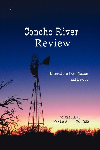 9780988383968: Concho River Review Fall 2012