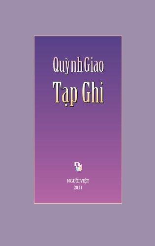 9780988424524: Tạp Ghi Quỳnh Giao