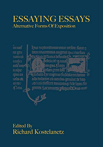 9780988471542: Essaying Essays - Alternative Forms of Exposition