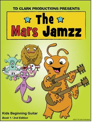 Mars Jamzz Kids Beginning Guitar Book 1: Brian T D