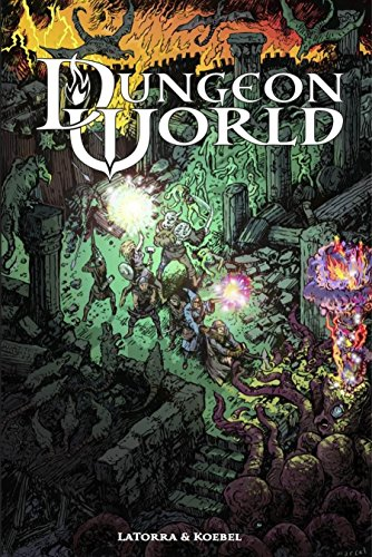 9780988639416: Dungeon World : Fantasy Role-Playing : Illustrated Hardcover Edition