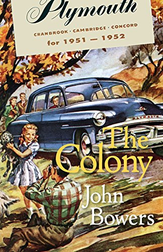 9780988696884: The Colony