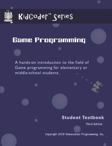 KidCoder: Game Programming (KidCoder Visual Basic Series) (0988703300) by Homeschool Programming, Inc.