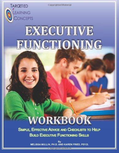 9780988775008: Executive Functioning Workbook