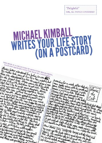 Michael Kimball Writes Your Life Story (on a postcard) (Novel (La)): Kimball, Michael