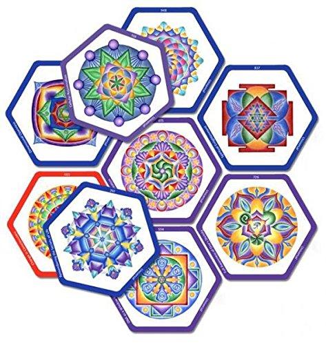 9780988854550: SOLFEGGIO MANDALA MEDITATION DECK 3: The Universal Frequencies (nine 3.2534; x 3.7534; cards)