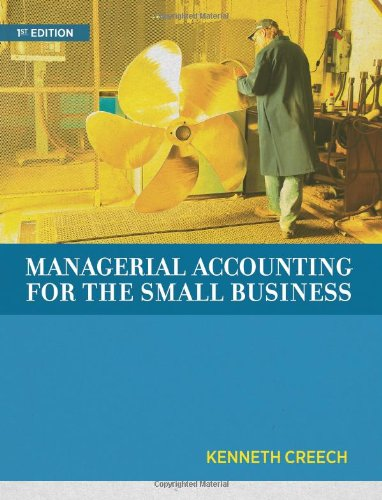9780988919389: Managerial Accounting for the Small Business
