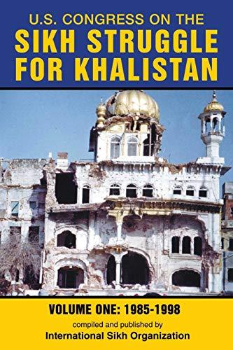 U.S. Congress on the Sikh Struggle for: International Sikh Organization