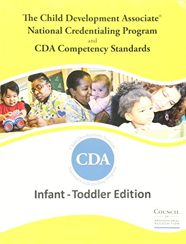 INFANT TODDLER CDA 2.0: Recognition, Council for