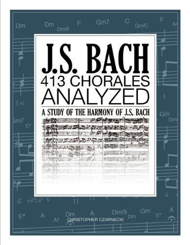 9780989087902: J.S. Bach 413 Chorales: Analyzed