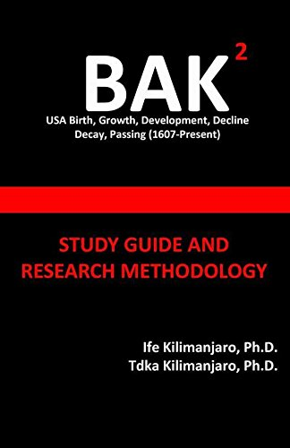 9780989114592: Bak2 (Study Guide and Research Methodology)