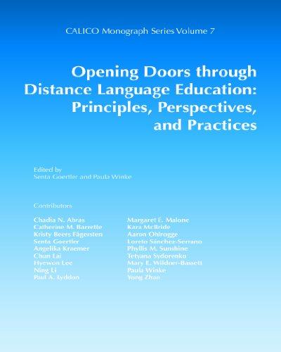 9780989120838: Opening Doors through Distance Language Education: